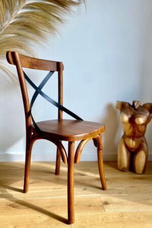 krzeslo drewniane boho