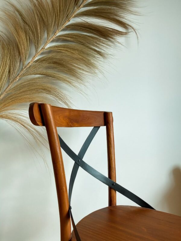 krzeslo drewniane boho tripX