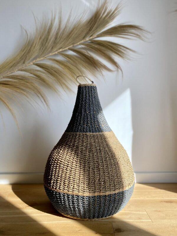 lampa z trawy morskiej